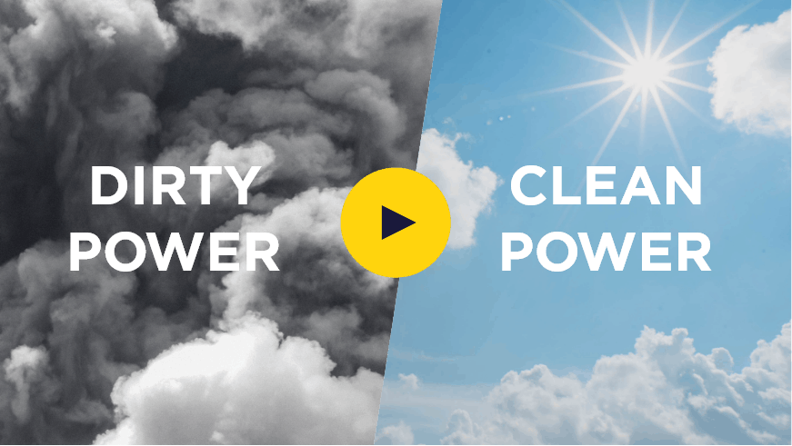 dirty power vs clean power