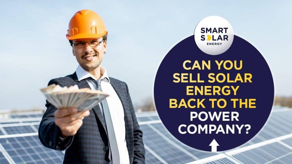 Selling Solar Energy