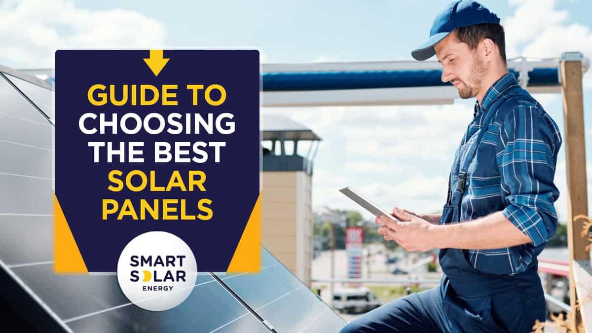 choosing the best solar panels