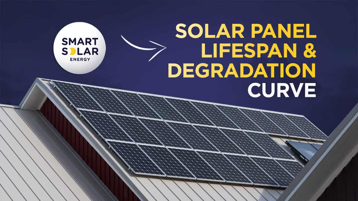Solar Panel Lifespan and degradation curve