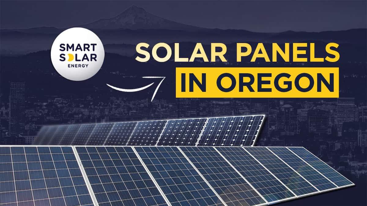 Solar Panels In Oregon
