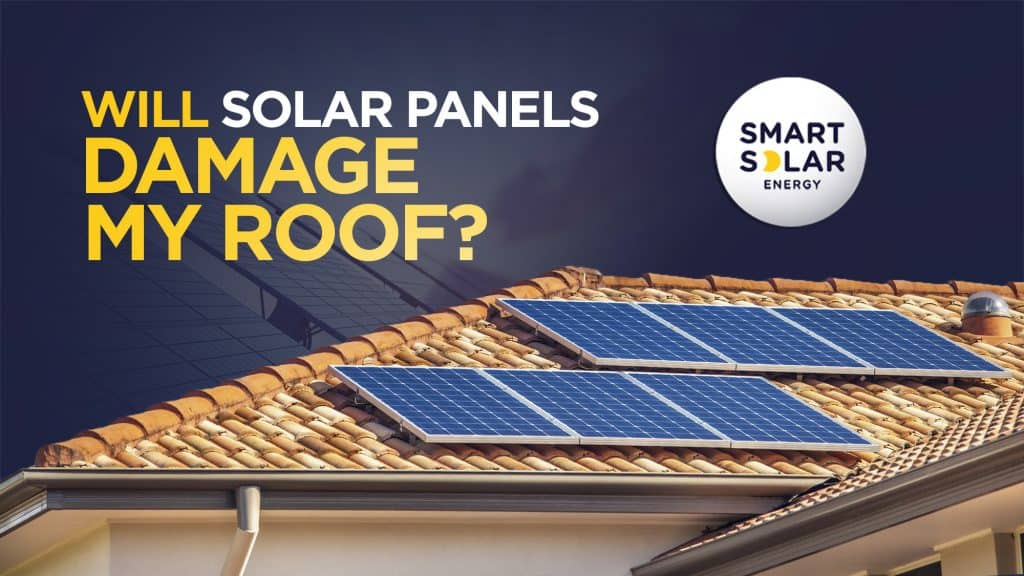 Will solar panels damage my roof?