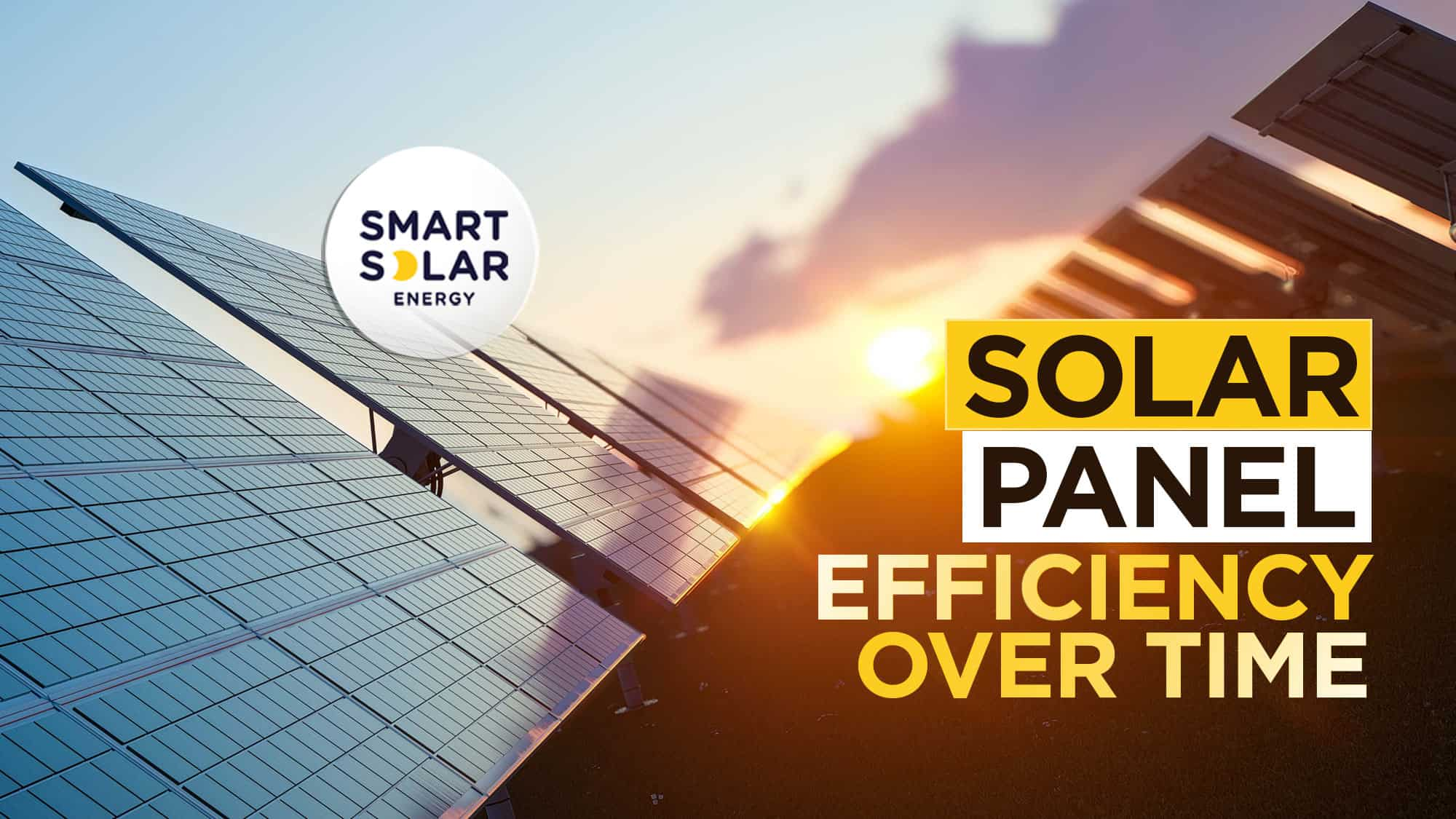 solar panel efficiency over time