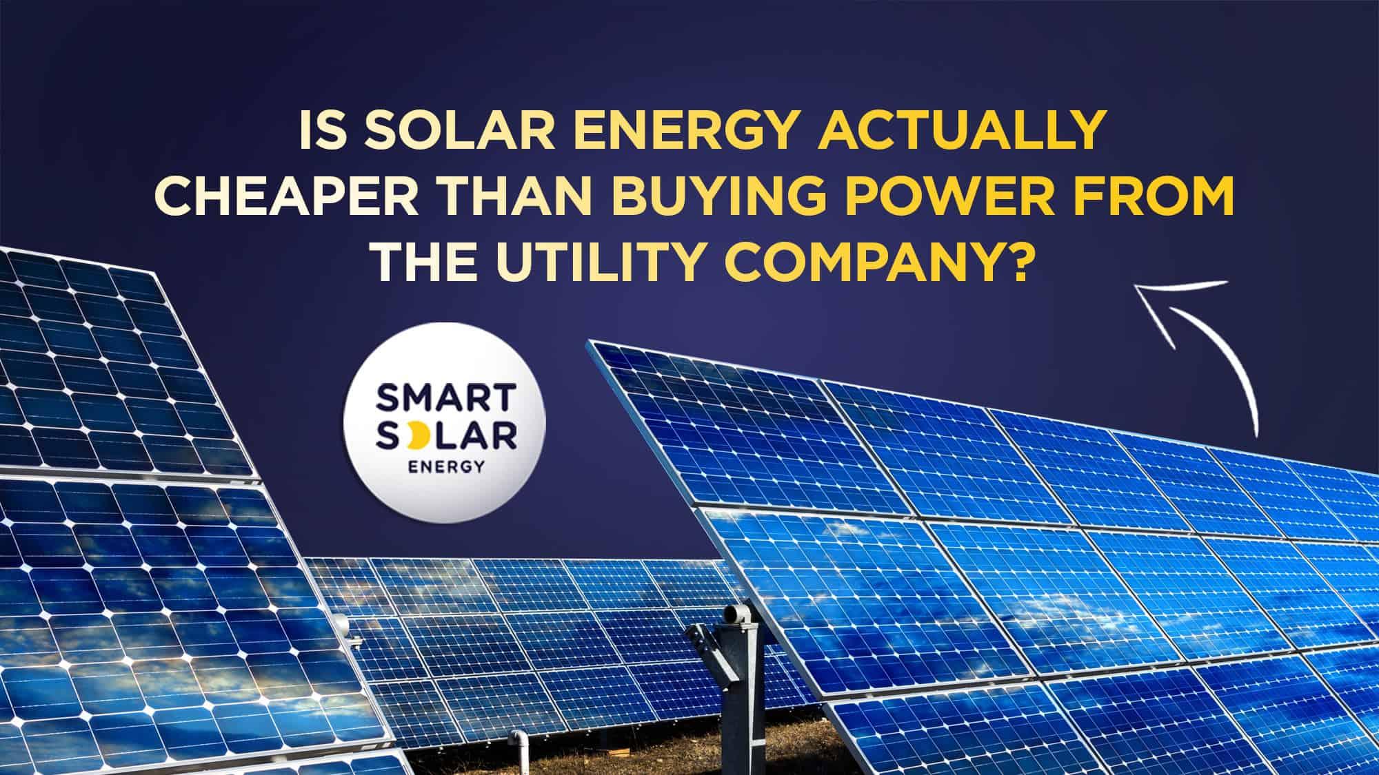 Is solar energy cheaper image