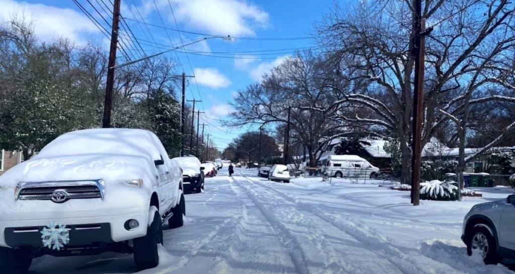 Texas Ice storm 2021