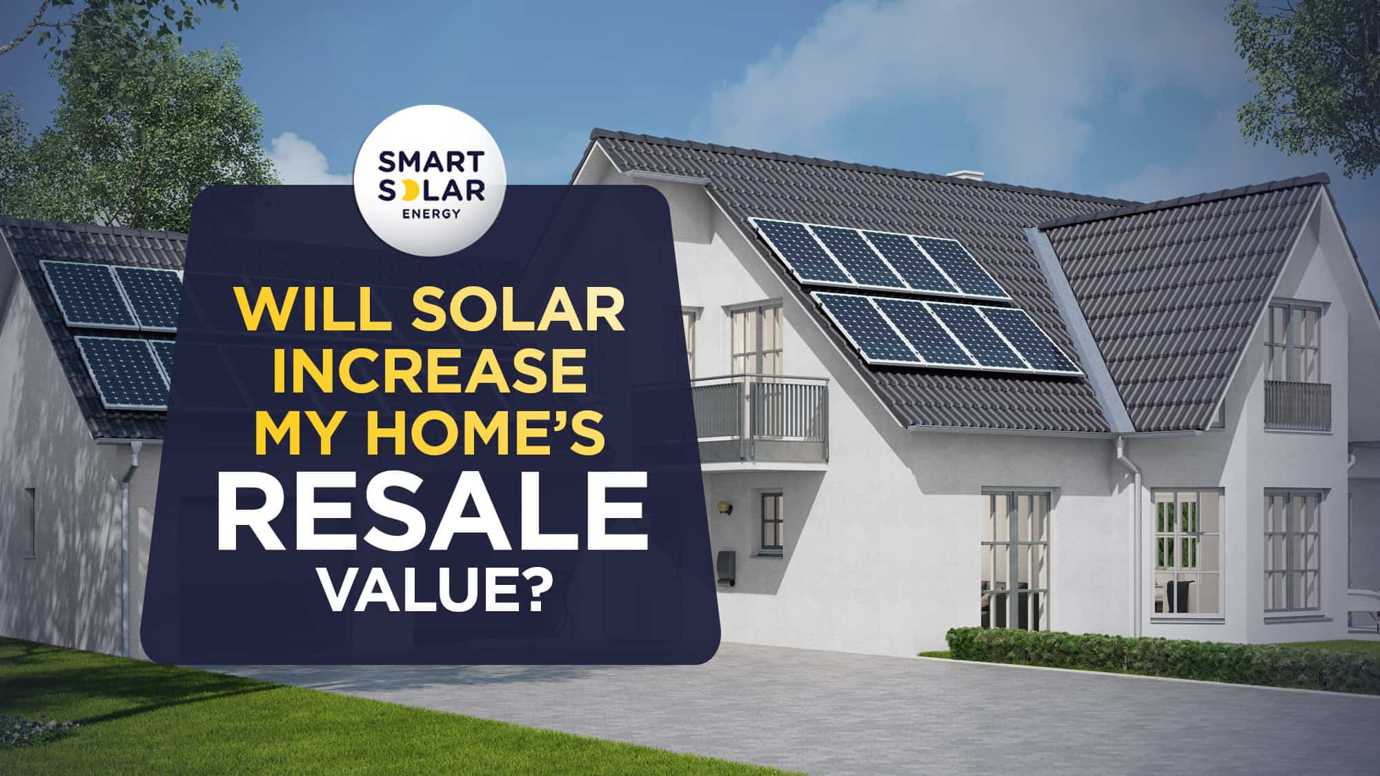 Will solar increase my homes resale value