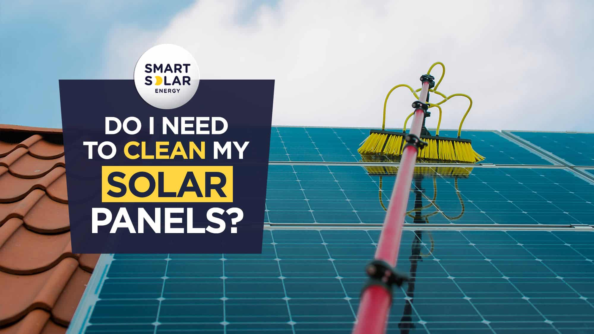 Do I need to clean my solar panels?